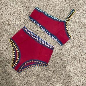 Kiini one shoulder bikini top